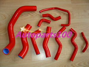 Red-silicone-radiator-hose-SILVIA-200SX-S13-S14-S15-SR20DET-for-Nissan