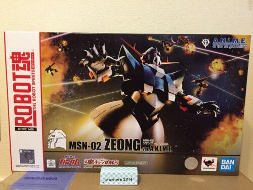 Bandai Robot Spirits Side Ms Msn-02 Zeong Ver A.N.I.M.E.Gundam Figure