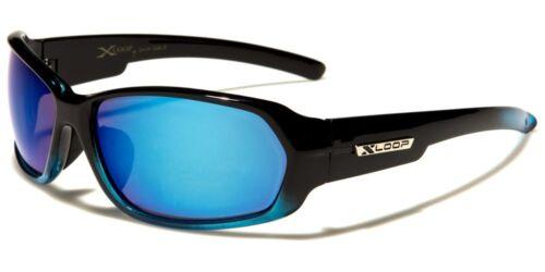 Sport XLOOP Designer Mens Womens Rectangle Wrap Mirror Sunglasses 100/%UV400 2474