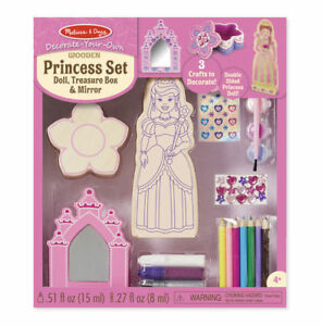 Melissa-and-Doug-Decorate-Your-Own-Wooden-Princess-Set-BNIB-19543