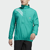 Adidas Men's Run It Anorak 3-Stripes ? Zip Jacket