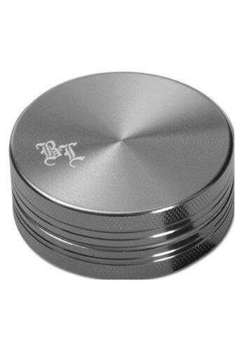 Mulino spezie Grigio Nuovo BLACK LEAF grinder in alluminio 2 pezzi 40mm ALLUMINIO Mulino 2tlg