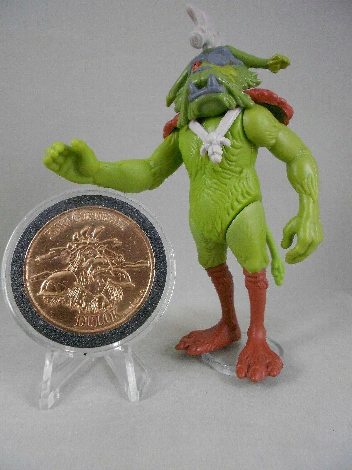 Vintage Star Wars Ewoks 1985 King Gorneesh - N Mint  w Ewok Coin  - Kenner