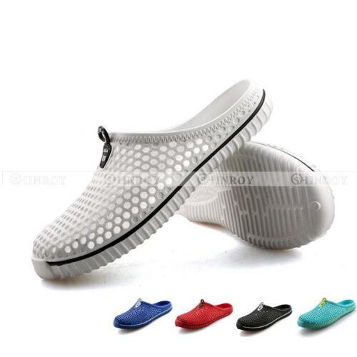 Femme Plage Plat Tongs Chaussures couples Hollow Out Trou Respirant Sandales