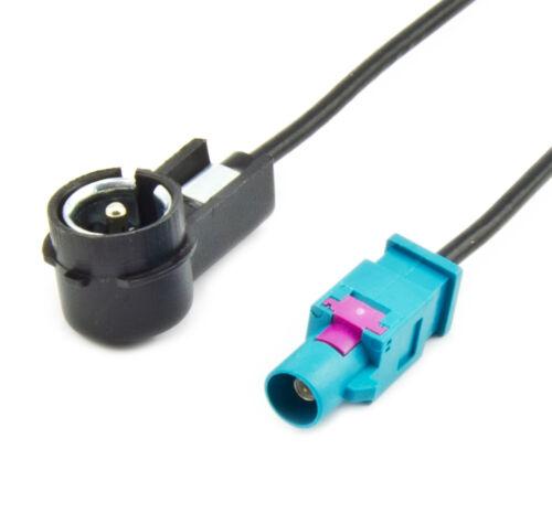 Adaptador de antena-FAKRA iso adaptador para VW AUDI SEAT SKODA bmw Ford