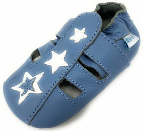 BOYS SANDALS 18-24 Months MINIFEET SOFT LEATHER BABY BOY SHOES 0-6,6-12,12-18