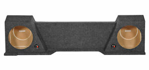 Downfire-Dual-10-034-Subwoofer-Sub-Box-Enclosure-for-2007-2013-GMC-Chevy-Xcab