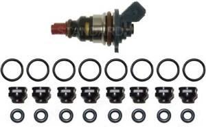 Fuel Injector Repair Kit for Jaguar Vanden Plas Orings Filters 03-98 XKR XJR