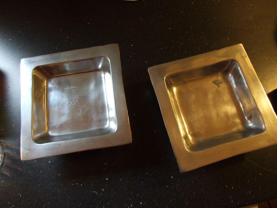 fad eller skål, aluminium