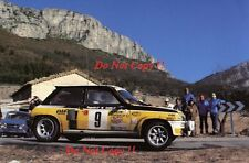 Jean Ragnotti Renault 5 Turbo Winner Monte Carlo Rally 1981 Photograph 3