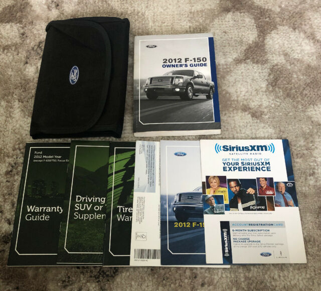 2015 Ford F150 Owners Manual With Case Oem Free Shipping Manual Guide