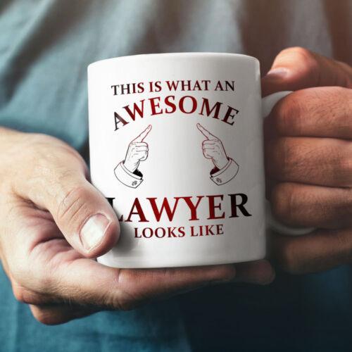 Awesome Lawyer NEW White Tea Coffee Mug 11 ozWellcoda