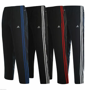Details about adidas ESSENTIALS CLIMALITE TRACK PANTS BOTTOMS JOGGERS SIZE S M L XL XXL