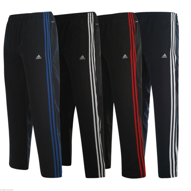 adidas essentials gryphon 3 stripe track pants mens joggers navy