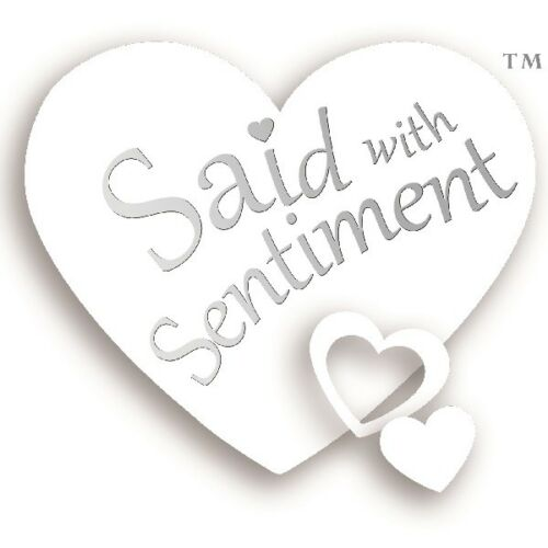 Details about  /Said With Sentiment 7610 Heart Frame Mr and Mrs
