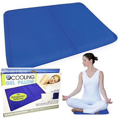 Motivata Di Raffreddamento A Dormire Cuscino Naturale Confortevole Corpo Cool Letto Tappetino 100% Sicuro-