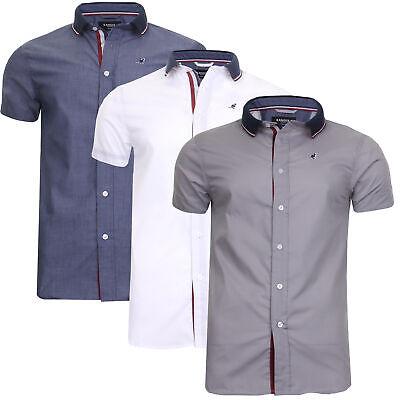 Men Short Sleeve Shirt Casual Summer Designer Retro Top Kangol Plus Size S - 6XL