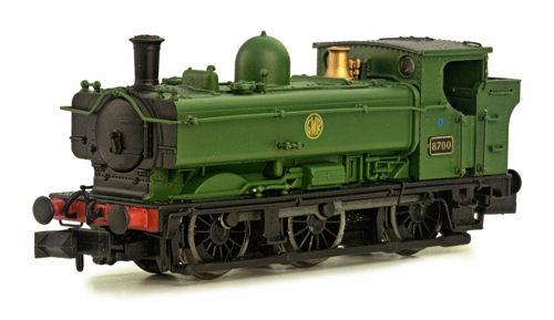 Dapol 2S007011 Pannier classe 67XX In GWR Shirt verde No  6746 N Gauge