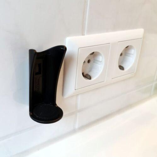 Wandhalter Klebehalterung Zahnbürstenhalter elektrische Zahnbürste OHNE BOHREN