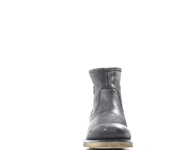 shoes REBECCA VAN DIK Femme black Cuir Cuir Cuir naturel 6603-NE 46a0c7
