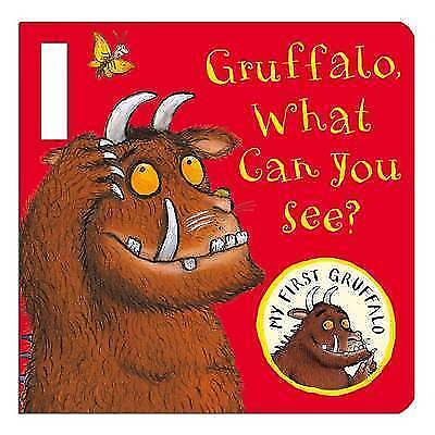 My First Gruffalo: Gruffalo, What Can You See? Buggy Book, Donaldson, Julia, New