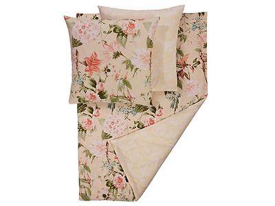 Bettwäschegarnituren BettwÄsche Renforcé Blumen Sand Uni Wende Motiv Neu Ln 317 Seien Sie Freundlich Im Gebrauch Ehrlich 3 Tlg