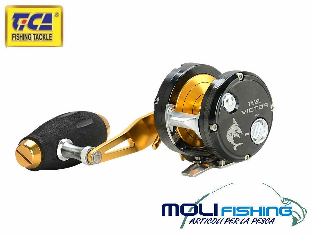 MULINELLO TICA VICTOR SOECIALE SLOW PITCH-LIGHT JIGGING TYA5HL MAX DRAG 9 KG