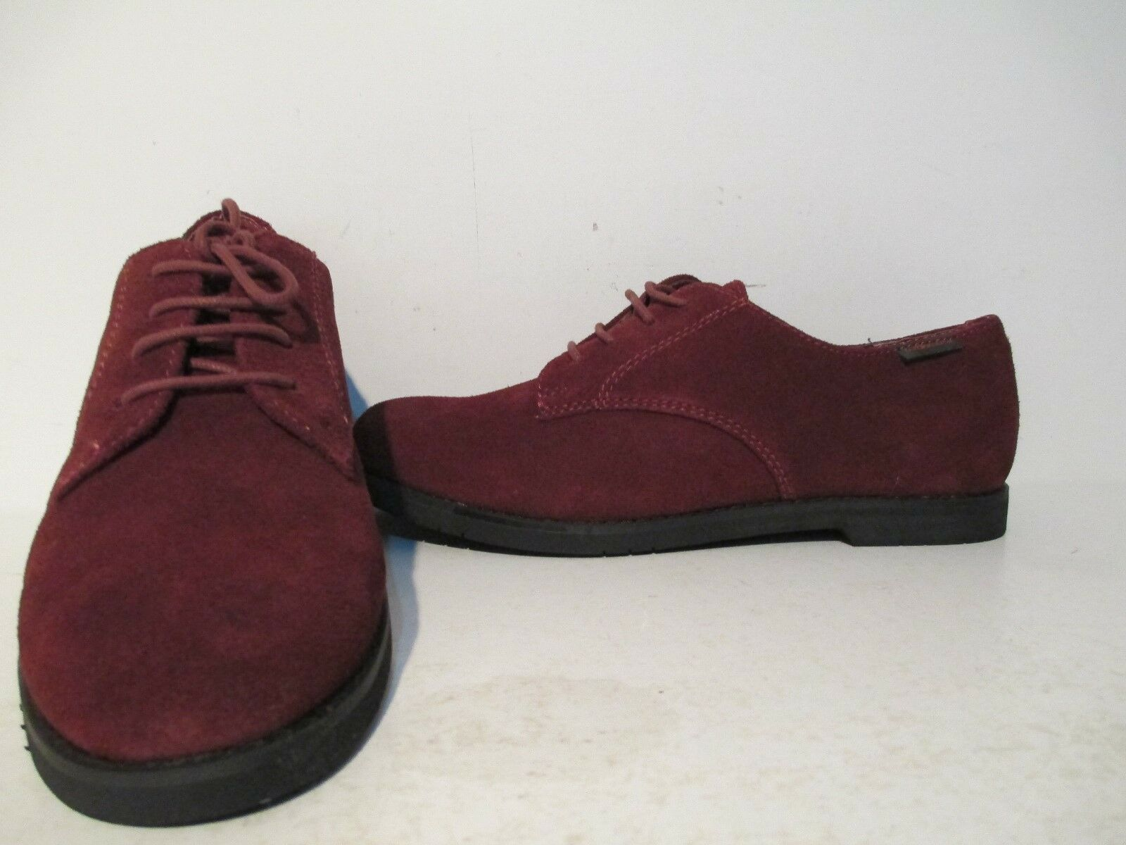 Bass Donna Ely 2 Suede Casual Lace Up Oxford Oxford Up 8.5 Scarpe marronestone   fd4d68