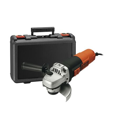 incluye Maletín AMOLADORA BEG210K 900w 115mm BLACK+DECKER