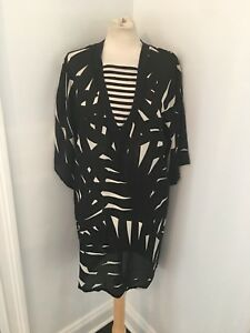 Vintage 80's Flora Kung 100% Silk Tunic Dress