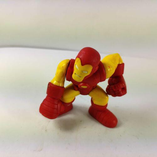 "Marvel Super Hero Squad 2007 Iron Man 2/"" Figure Red// Yellow Suit"