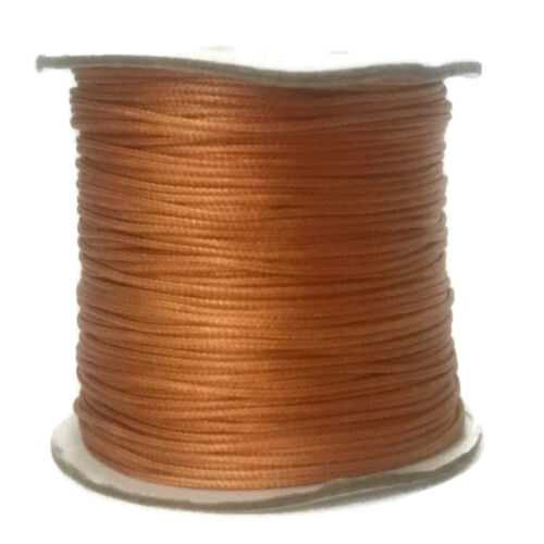 1mm Waxed Polyester Cord