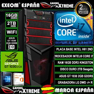 Ordenador-Gaming-Pc-Intel-i7-16GB-2TB-Asus-GT1030-2GB-Wifi-Office-de-Sobremesa