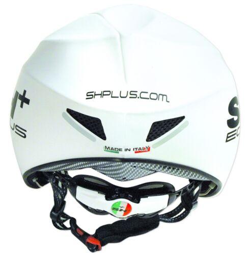- Blanc SH + a $360 shplus Eolus TT Time Trial Piste Cyclisme Casque