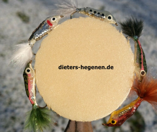 5er pesce persico sistema hegene pesciolini trote trota egli MINNOW hegenen;-