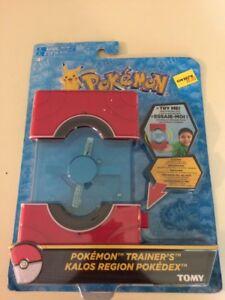 Details about Pokémon Trainer's Kalos Region Electronic Pokedex Tomy  Trainer Sound Effects