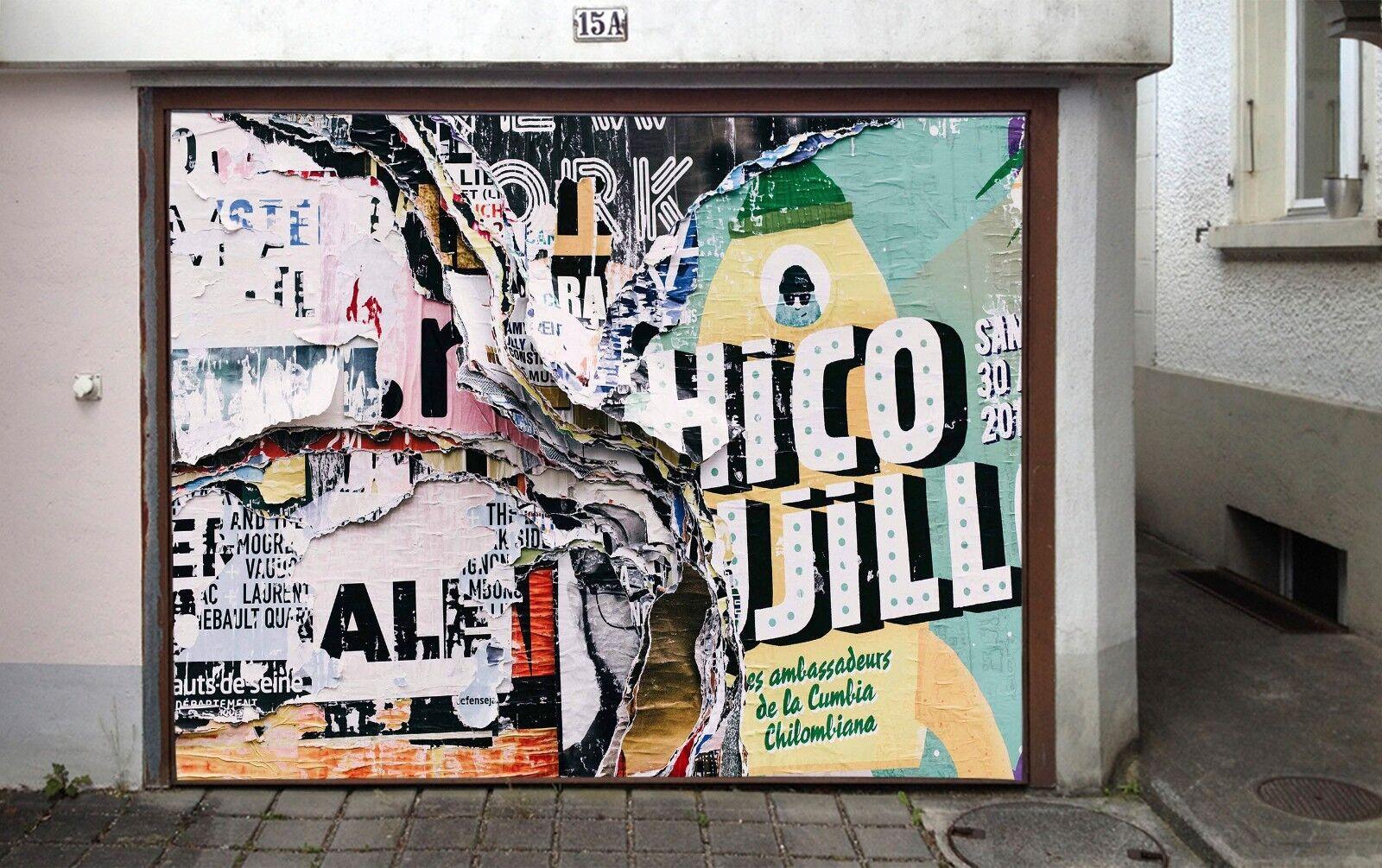 3D Newspaper 78 Garage Door Murals Wall Print Decal Wall Deco AJ WALLPAPER AU