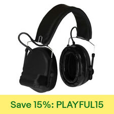 3M Peltor Comtac III Hearing Defenders w/Gel Ear Cushions w/ FREE Edge Eyewear