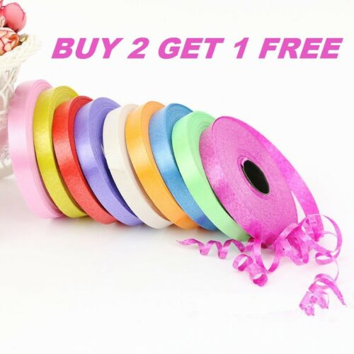 50 METERS HELIUM BALLOONS CURLING RIBBON FOR PARTY GIFT WRAPPING BALOONS RIBON