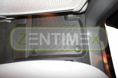 Premium-3D-TPE-Gummifußmatten für Mercedes GLE-Klasse W166 Steilheck Geländewa4B
