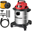 thumbnail 1 - Vacmaster Red Edition VOC508S 1101 Stainless Steel Wet Dry Shop Vacuum 5 Gallon