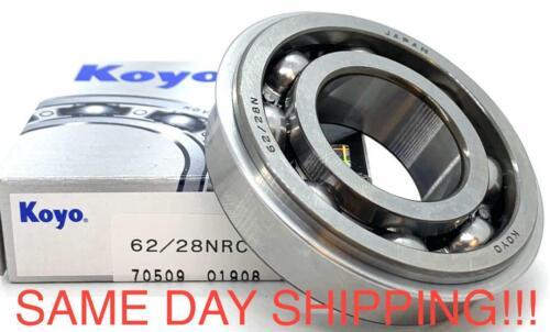 62//28NR KOYO Bearing 28x58x16 Open Snap Ring Japan Bearings SAME DAY SHIPPING!!