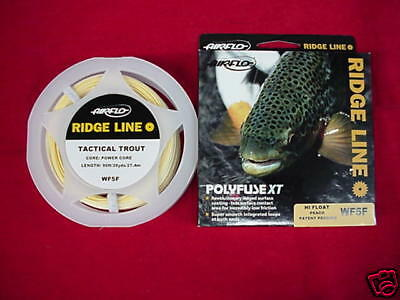 Air Flo Fly Line Tactical Trout DT4F GREAT NEW