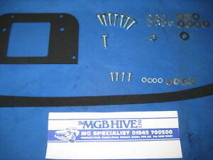 MG-Nouveau-MGB-Pedale-1962-76-Pedale-Boite-joints-et-kit-de-montage-XY12-OA25