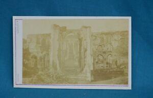 Image Is Loading 1870s CDV Carte De Visite Photo Furness Abbey