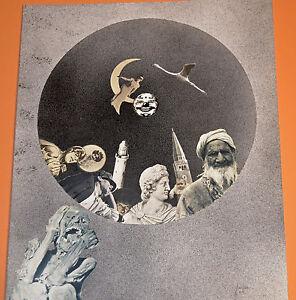 Technique-Mixte-Collage-et-Aerographe-FANTASTIQUE-1972-AGAPIN