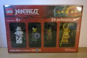 PRONTA-CONSEGNA-LEGO-NINJAGO-MINIFIGURES-5004938-TOYS-R-US-Ltd-Ed