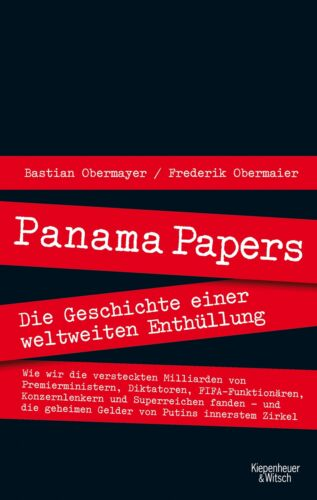 1 von 1 - Panama Papers, Bastian Obermayer