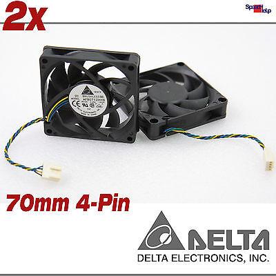 GehÄuse Case System Cooler LÜfter 70x70x15mm 70mm 4-pin 12v Delta Afb0712hhb Professionelles Design