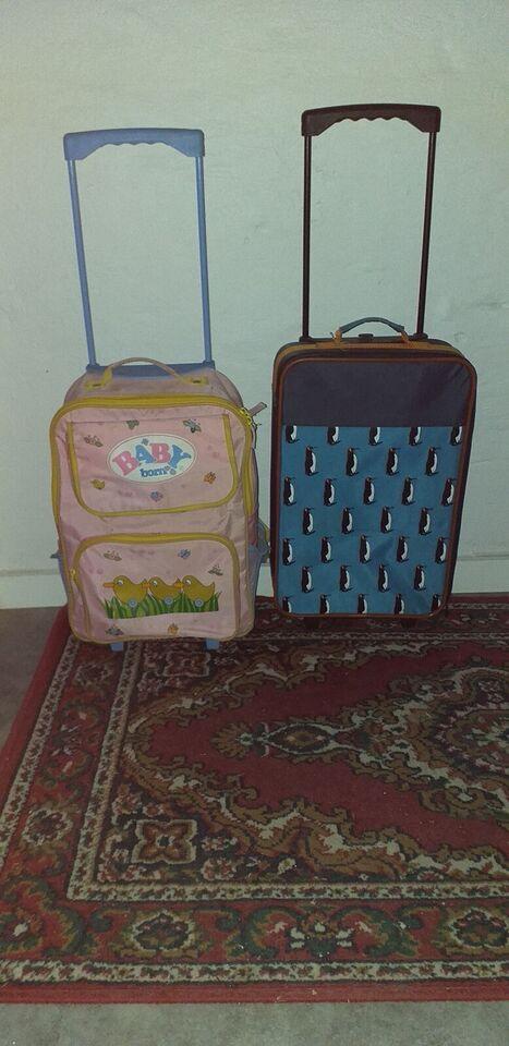 Trolley, Baby børn + Pingvin, b: 1 l: 1 h: 1